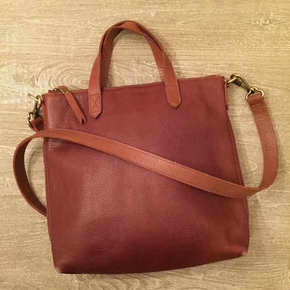 def4f8317 Madewell Handbags - Madewell Pecan Mini Transport Crossbody Bag